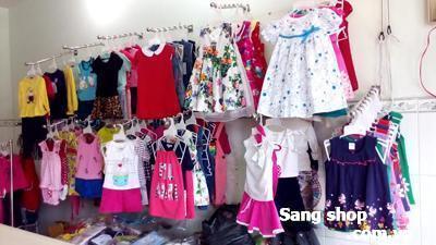 Sang shop quần áo trẻ em mặt tiền đường Phan Văn Trị