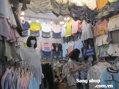 Sang shop quần áo chợ Phạm văn hai