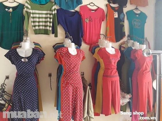 Sang shop quần áo đối diện chung cư đông hải