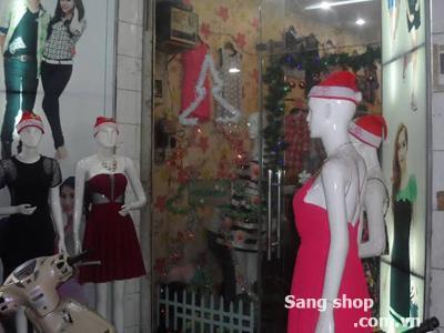 Sang shop quần áo đường CMT 8, quận Tân Bình