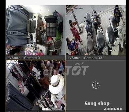 Sang shop quần áo đường Luỹ Bán Bích