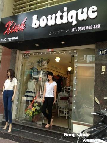 Sang shop quần áo giá rẻ
