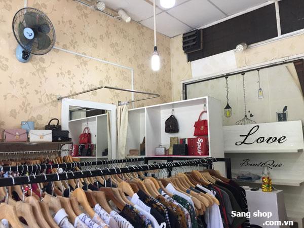 Sang shop quần áo mặt tiền Nguyễn Thái Sơn