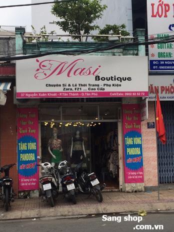 Sang shop quần áo nữ quận Tân Phú