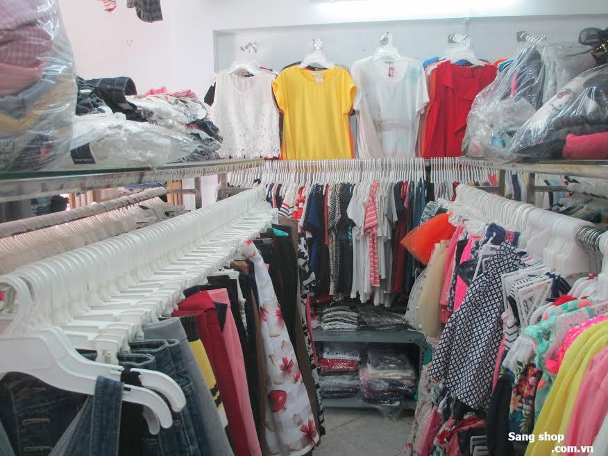 Sang shop quần áo nữ và trẻ em xuất khẩu