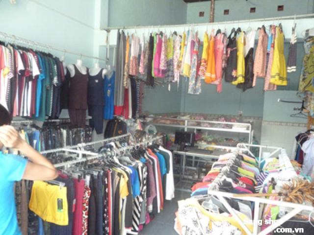 Sang shop quần áo ở Bình Chánh