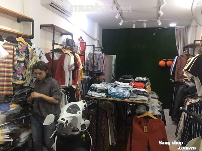 Sang shop quần áo thời trang nam nữ +nhà nguyên căn