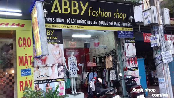 Sang shop quần áo thời trang quận Tân Phú