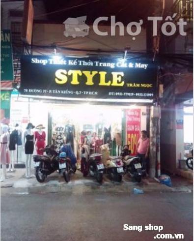 Sang shop quần áo trung tâm quận 7