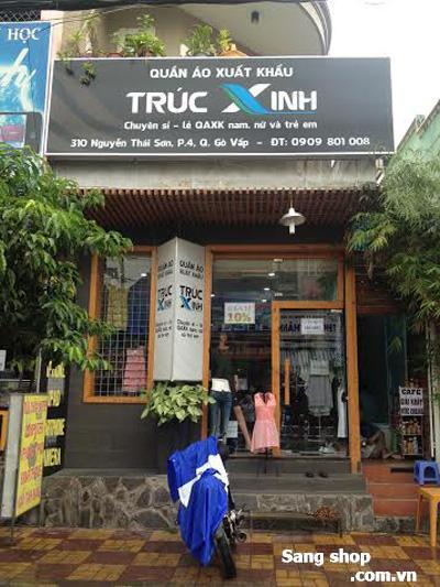 Sang shop quần áo xuất khẩu tại quận Gò Vấp