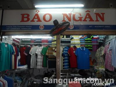 Sang shop - sạp chợ An Đông, quận 5