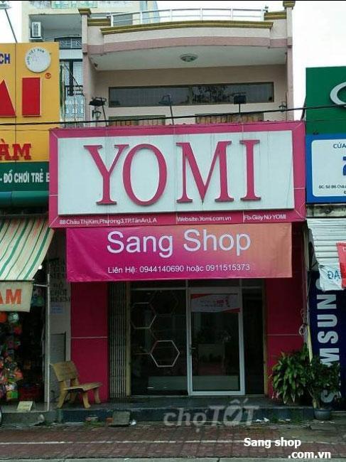 Sang shop tại Thành Phố Tân An rộng 150m2