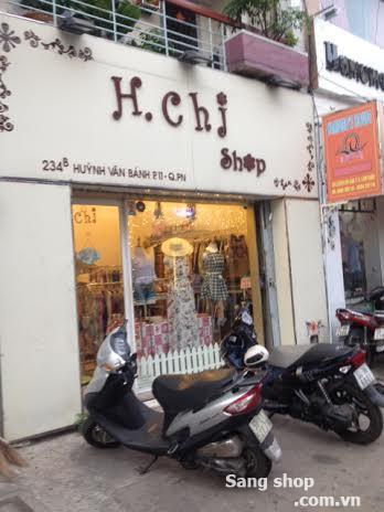 Sang shop thời trang  Nữ cao cấp Quận Phú Nhuận