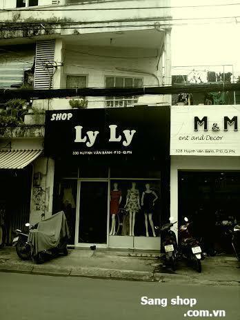 Sang shop thời trang Nữ mặt tiền Huỳnh Văn Bánh