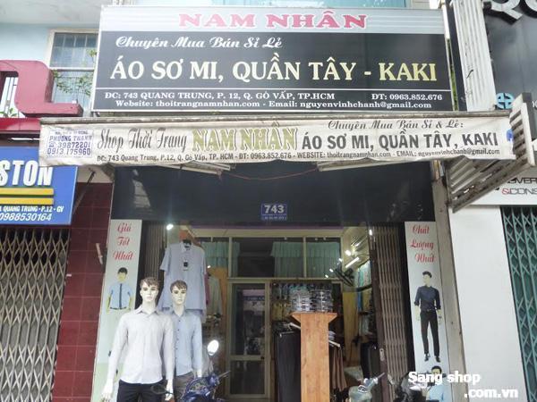 Sang shop thời trang  quận Gò vấp