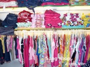 Sang shop thời trang  trẻ em xuất khẩu