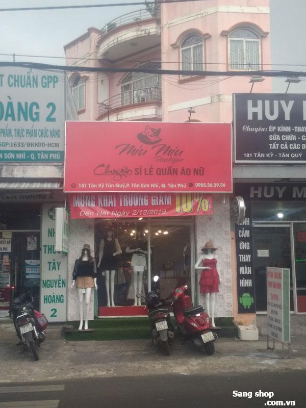 Sang shop thời trang 181 Tân Kỳ Tân Quý, Tân Phú