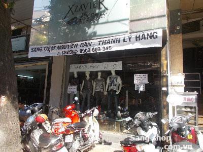 Sang shop thời trang tại quận 3