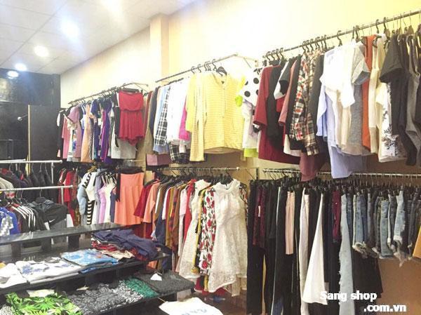 Sang shop thời trang cách trục đường Quang Trung 20m