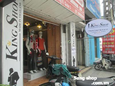 Sang shop thời trang cao cấp quận 3.