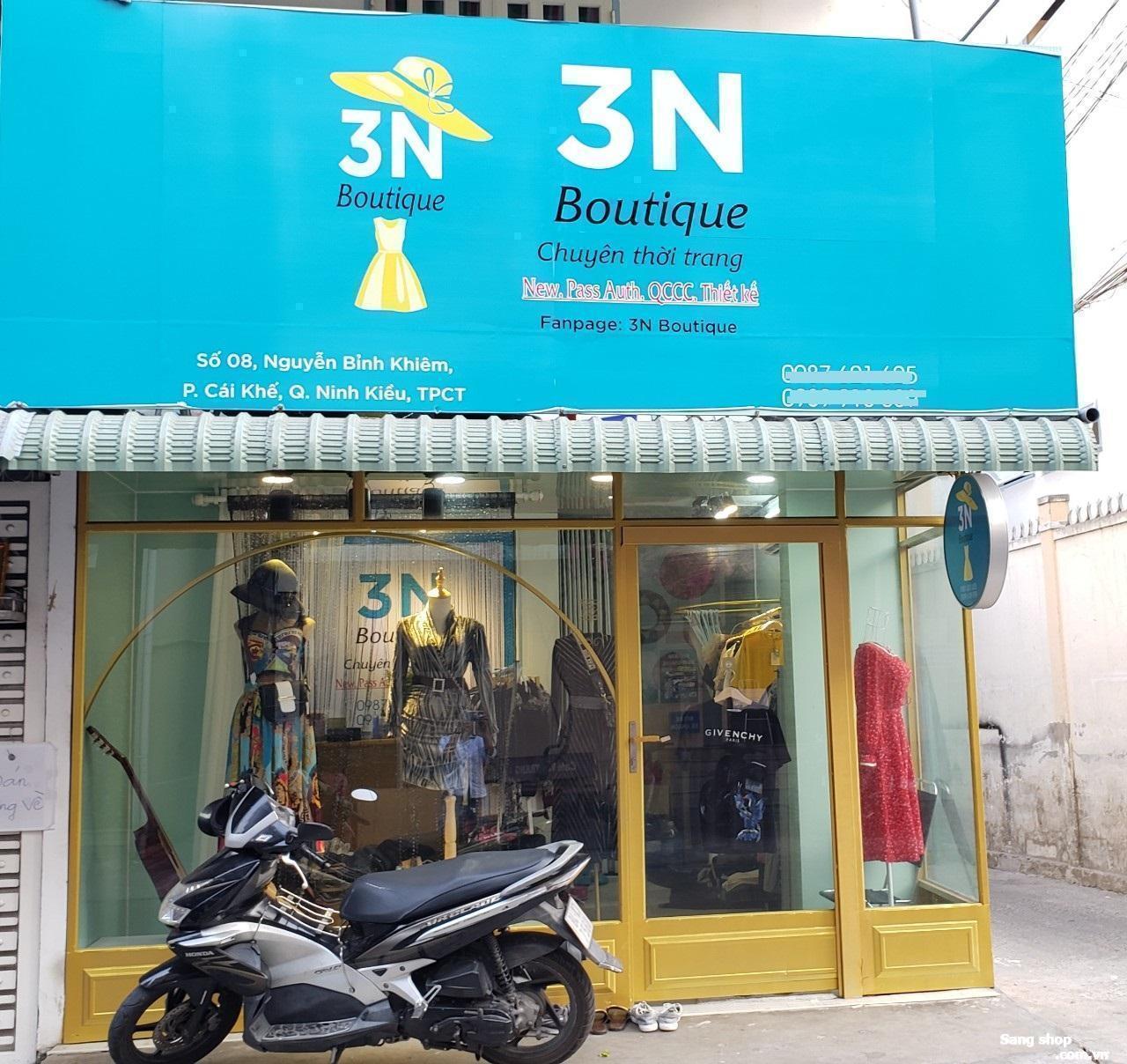 Sang shop thời trang chỉ cần vào bán trang bị đầy đủ