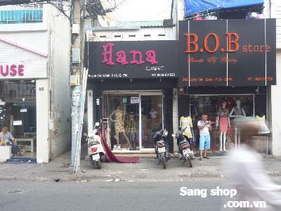 Sang shop thời trang đông khách, Quận Phú Nhuận