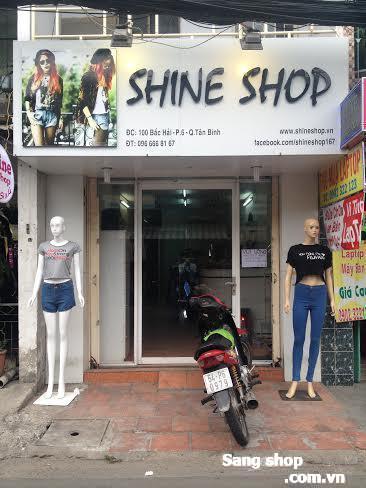 Sang shop thời trang đường Bắc Hải quận Tân Bình
