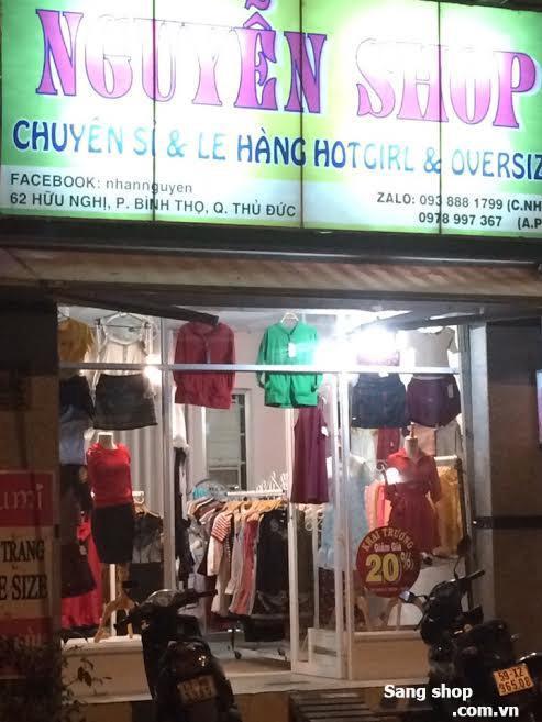 Sang Shop thời trang đường Hữu Nghị