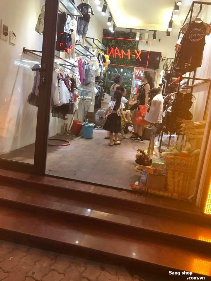 Sang shop thời trang đường Lê Hồng  Phong