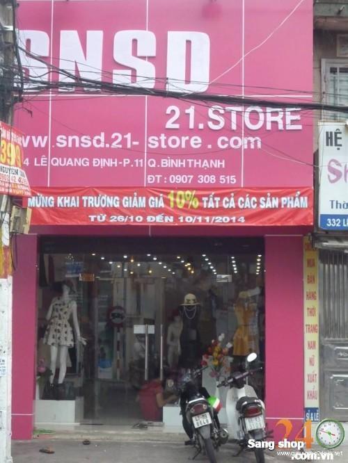 Sang Shop Thời Trang đường Lê Quang Định