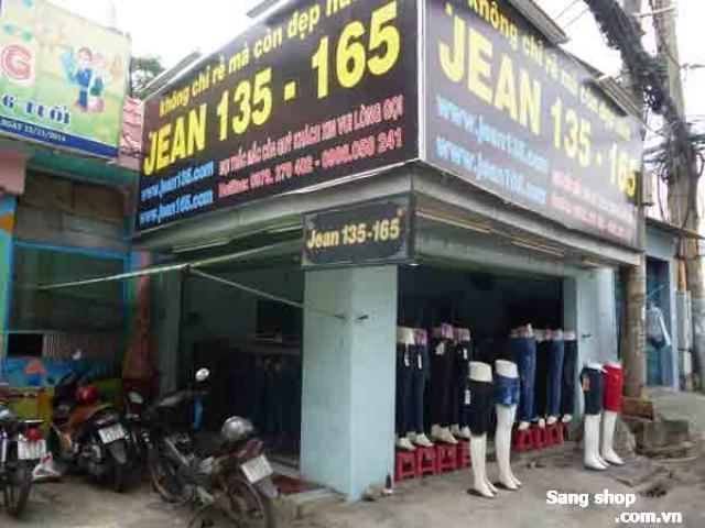 Sang shop thời trang đường Lê Thị Hoa,