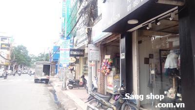 Sang shop thời trang đường Lê Văn Sỹ