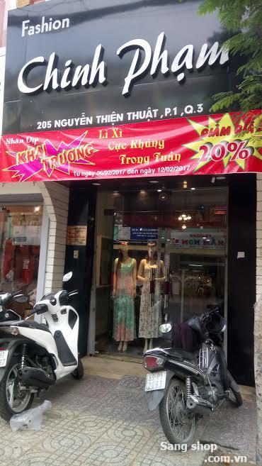 Sang shop thời trang đường Nguyễn Thiện Thuật