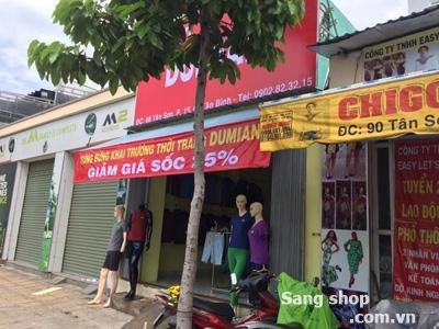 Sang Shop thời trang đường Tân sơn