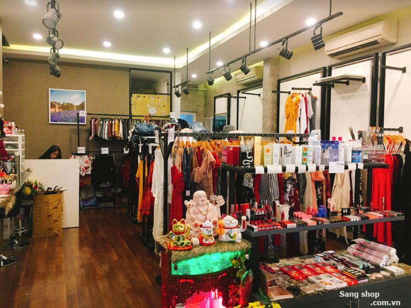 Sang shop thời trang đường Thông nhất