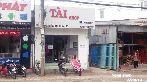 Sang shop thời trang đường Trần Hưng Đạo