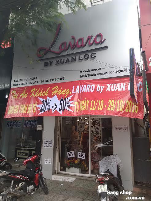 Sang shop thời trang đường Trường Chinh