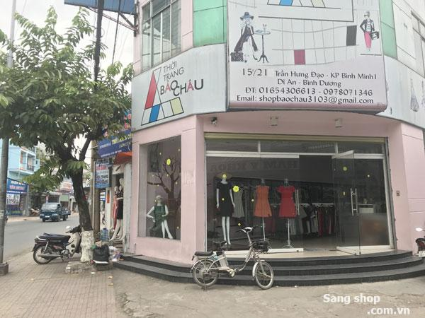 Sang shop thời trang gần chợ Dĩ An