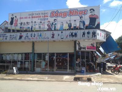 Sang shop thời trang góc 2 mặt tiền kdc Thuận Giao