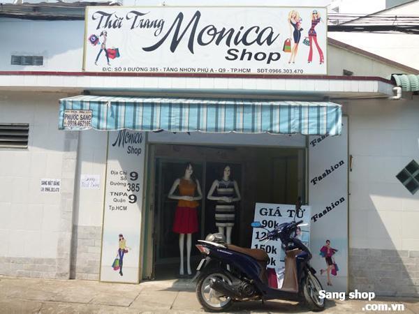 Sang shop Thời trang Hoặc MB kinh doanh