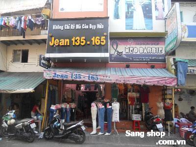 Sang shop thời trang khu sầm uất Quận 3