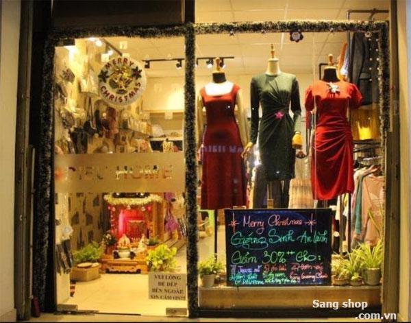 Sang shop thời trang Khu vực gần khu làng đại học