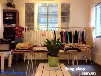 Sang shop Thời trang lầu 1, trung tâm Q.1