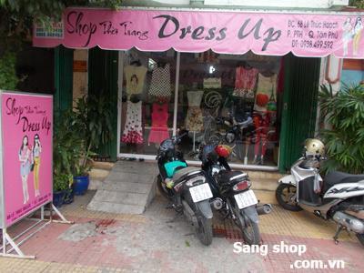 Sang shop thời trang Lê Thúc Hoạch, Quận Tân Phú
