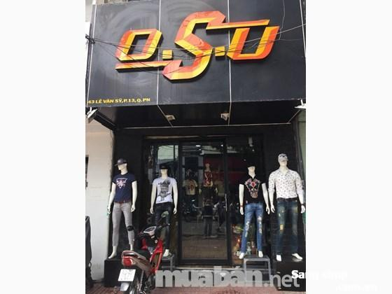 Sang shop thời trang Lê Văn Sỹ - Q Phú Nhuận