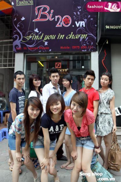 Sang shop thời trang phố Thụy khuê, Hà Nội