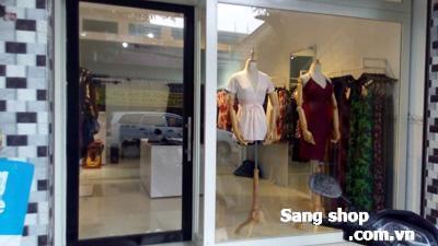 Sang shop thời trang mặt tiền đường hàn Thuyên