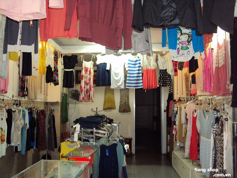 Sang shop thời trang mặt tiền quận Bình Thạnh
