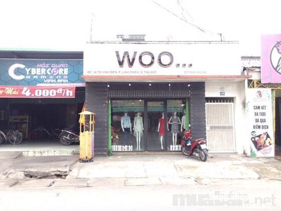 sang shop thời trang mặt tiền Tô Vĩnh Diện