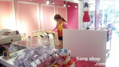Sang shop thời trang mặt tiền Trần Quang Diệu